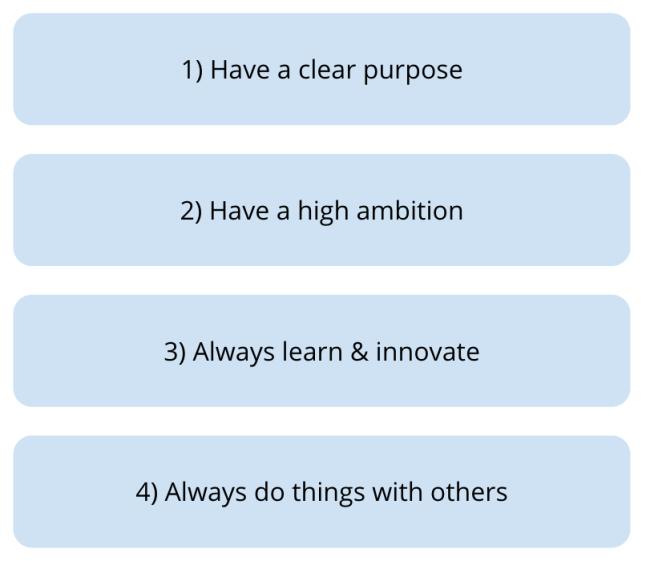 Pillars for success