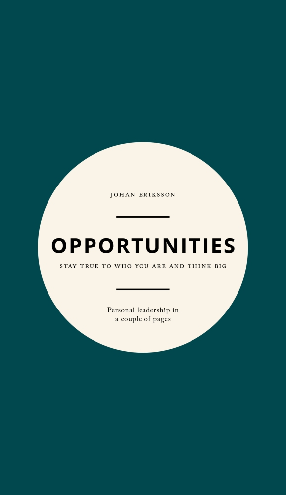 Opportunities book cover